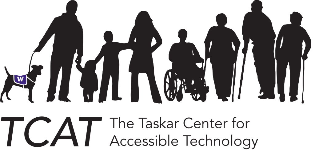 Logo for the Taskar Center for Accessible Technology